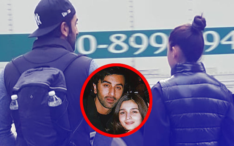 Alia Bhatt And Ranbir Kapoor Stroll On The Streets Of New York- View Pics