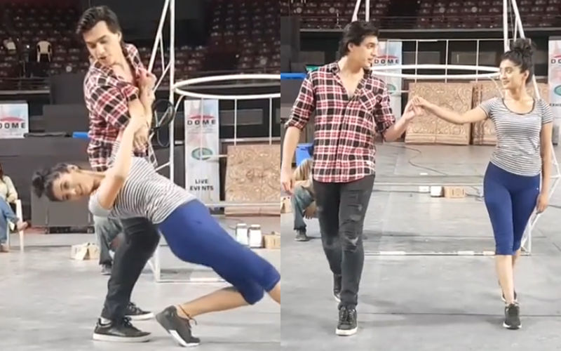 Shivangi Joshi And Mohsin Khan Rehearse For Star Parivaar Awards 2018 – Watch Video