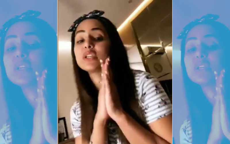 Why Is Hina Khan Aka Komolika Apologising To Fans With Folded Hands?