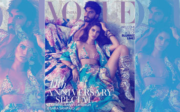 Ranveer Singh Turns Coverboy With Victoria's Secret Supermodel Sara Sampaio And The Result Is Red Delicious