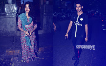 Dhadak Pair Janhvi Kapoor And Ishaan Khatter Enjoy Down Time In Bandra