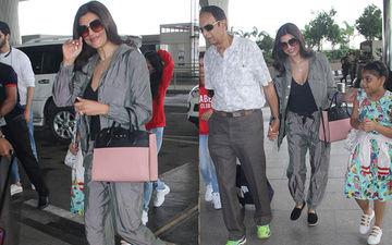 अपने भाई की शादी में शामिल होने के लिए बॉयफ्रेंड रोह्मन और बेटी के साथ गोवा रवाना हुई सुष्मिता सेन: देखिए तस्वीरें