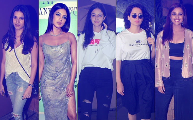 STUNNER OR BUMMER: Tara Sutaria, Priyanka Chopra, Ananya Panday, Kangana Ranaut Or Parineeti Chopra?