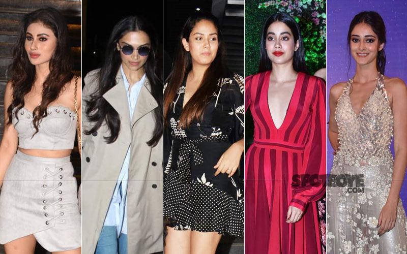 STUNNER OR BUMMER: Mouni Roy, Deepika Padukone, Mira Rajput, Janhvi Kapoor Or Ananya Panday?