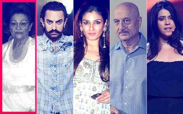 Krishna Raj Kapoor Death: Aamir Khan, Raveena Tandon,  Anupam Kher, Ekta Kapoor Offer Condolences