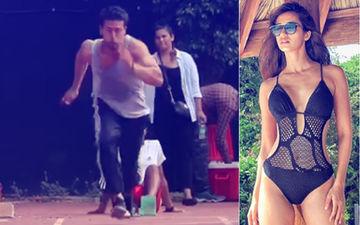 """Catch Me If You Can,"" Disha Patani Challenges Boyfriend Tiger Shroff"
