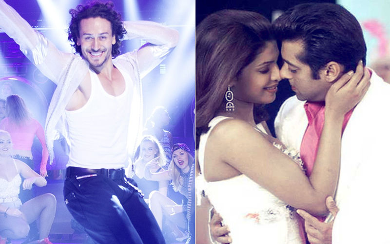 Tiger Shroff Flaunts His Fab Moves On Salman Khan-Priyanka Chopra's Song