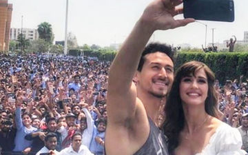 Disha Patani Pulls A Somersault Like A Pro, Makes Tiger Shroff Go, 'Woahhhh'