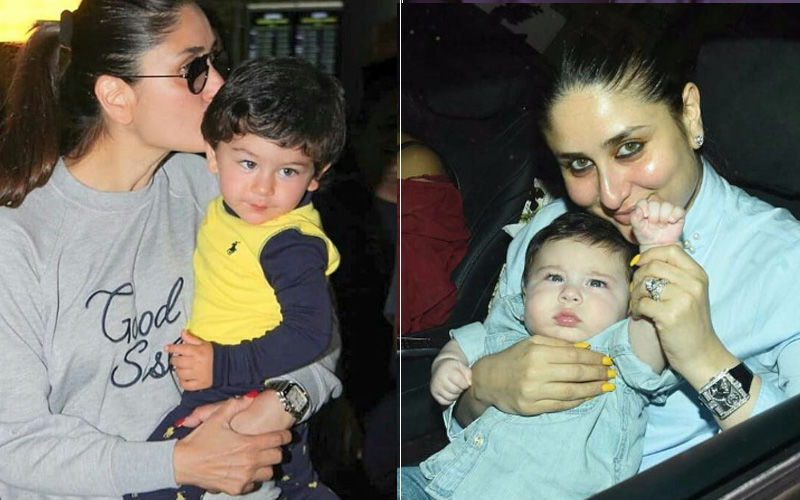 Kareena Kapoor Khan Birthday Special: A Look At The Best Pictures Of The Birthday Girl With Son Taimur Ali Khan