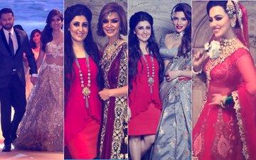 Ishita Dutta, Vatsal Seth, Shama Sikander, Aashka Goradia & Sana Khan Walk The Ramp