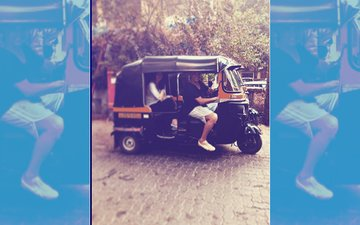 """Twinkle Khanna Goes Out On A Date With Her """"Cute Rickshaw Driver"""" Akshay Kumar"""
