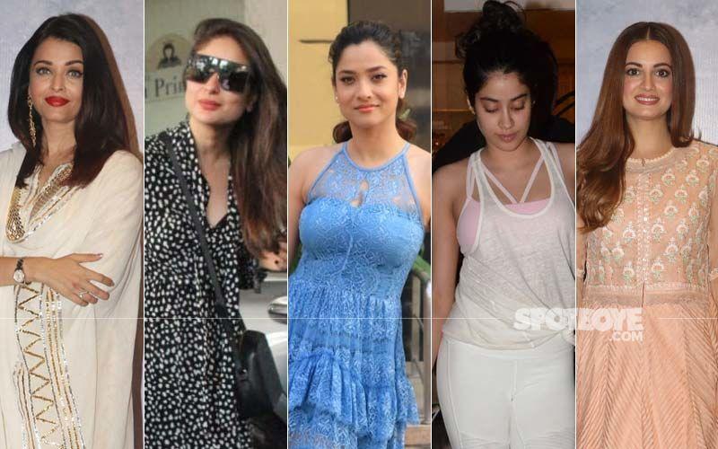 STUNNER OR BUMMER: Aishwarya Rai Bachchan, Kareena Kapoor Khan, Ankita Lokhande, Janhvi Kapoor Or Dia Mirza?