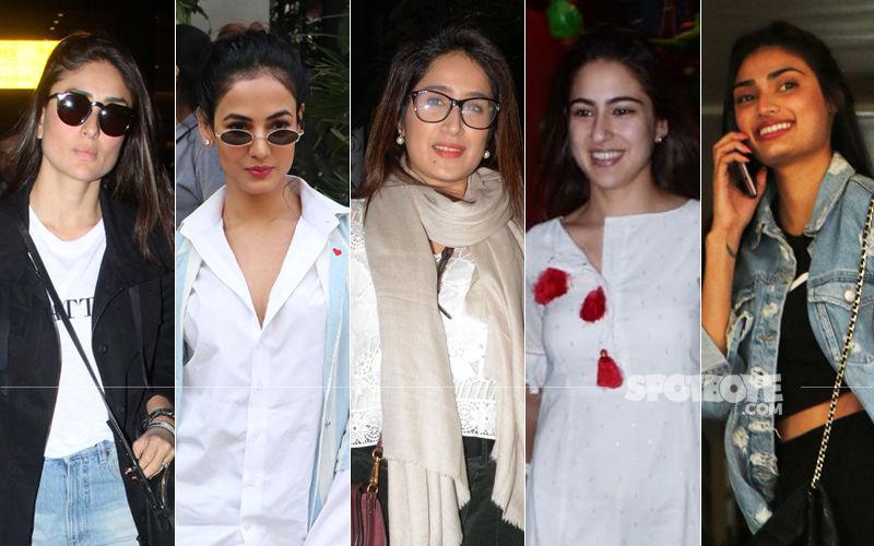 STUNNER OR BUMMER: Kareena Kapoor Khan, Sonal Chauhan, Sagarika Ghatge, Sara Ali Khan Or Athiya Shetty?