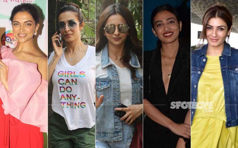 STUNNER OR BUMMER: Deepika Padukone, Malaika Arora, Rakul Preet Singh, Radhika Apte Or Raveena Tandon?