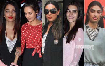 STUNNER OR BUMMER: Aishwarya Rai Bachchan, Esha Gupta, Gauri Khan, Kriti Sanon Or Athiya Shetty?