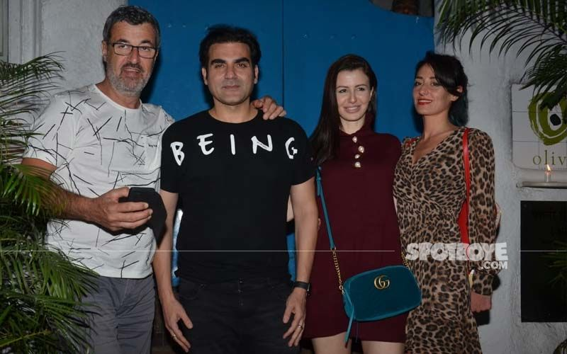 Arbaaz Khan's 'We Time' With Girlfriend Giorgia Andriani And Her Family