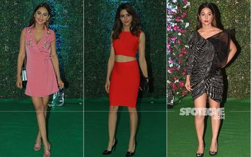 Ekta Kapoor's Success Bash: Erica Fernandez, Parth Samthaan, Anita Hassanandani, Aamna Sharif And Hina Khan Make A Fashionable Entry