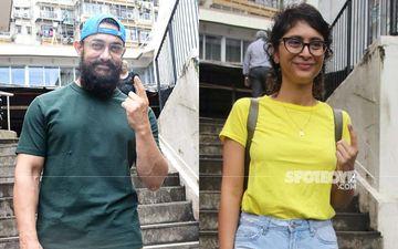 Maharashtra Assembly Elections 2019: Aamir Khan, Kiran Rao And Lara Dutta Among Early Voters