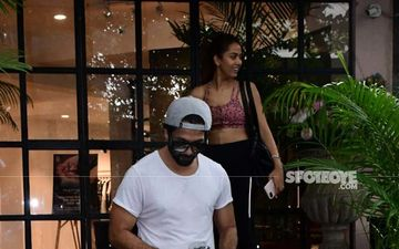 But First, Let Us Burn Some Calories; Shahid Kapoor-Mira Rajput Crush Weekend Workout Game