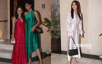 Vaani Kapoor, Sophie Choudry, Nushrat Bharucha, Tahira Kashyap And Punit Malhotra Grace Manish Malhotra's Diwali 2019 Bash