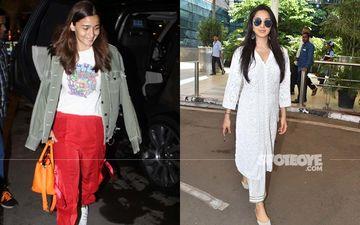 Alia Bhatt And Kiara Advani Make A Splash At The Airport