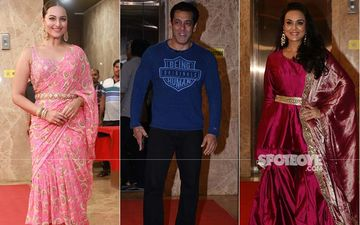 Diwali Party 2019: Salman Khan, Sonakshi Sinha, Vicky Kaushal, Preity Zinta Make A Dhamakedaar Entry at Ramesh Taurani's Bash