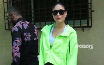 Kareena Kapoor Khan's Fashion Game In Neon Is On Point As She Gets Papped In The City