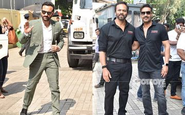 Tanhaji - The Unsung Warrior Trailer Launch: Ajay Devgn, Rohit Shetty, Saif Ali Khan Make A Powerful Entry