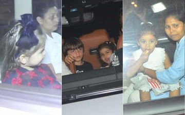 Rani Mukerji's Daughter Adira's B'Day Bash: AbRam, Misha Kapoor, Yash And Roohi Johar Join The Party