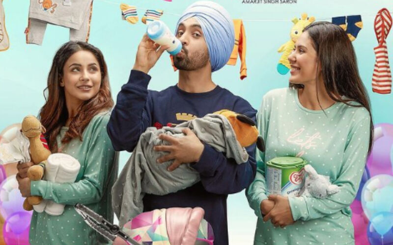 Honsla Rakh Trailer OUT: Shehnaaz Gill Steals The Show With Her Glamorous Avatar And Chemistry With Diljit Dosanjh-Watch