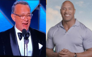 Golden Globes 2020: Dwayne Johnson Lauds Tom Hanks' Speech; Calls Him The Kindest And Coolest Human