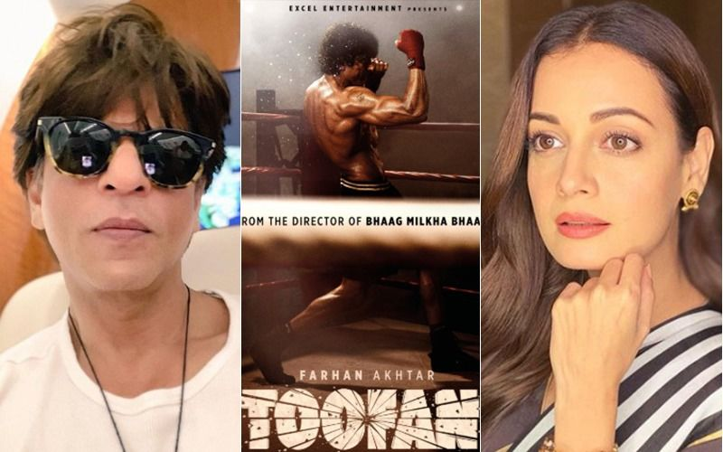 Toofan: Shah Rukh Khan, Dia Mirza And Others Are Amazed At Farhan Akhtar's  Boxer Avatar