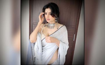 Actress Trupti Toradmal Flaunts Her Cleavage In A Sultry Cocktail Dress On Social Media