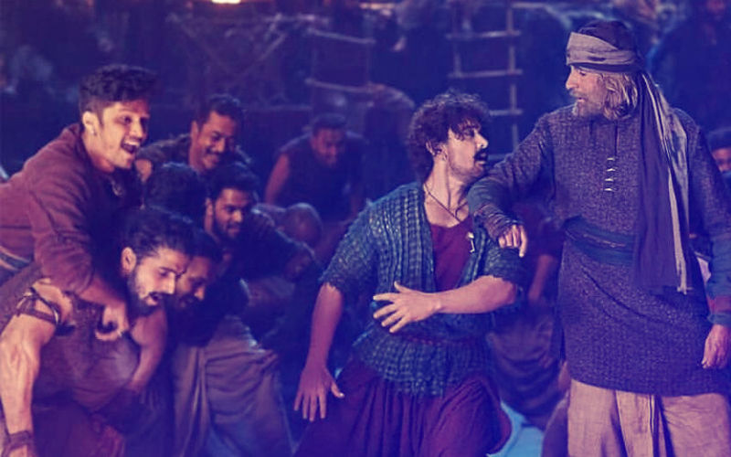 Thugs Of Hindostan Song, Vashmalle: Watch Big B And Aamir Khan Make Merry EXCLUSIVELY On 9XM