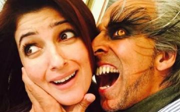 Twinkle Khanna Accuses Hubby Akshay Kumar Of Stealing Her 'Freshly Washed, Pretty, Floral Mask'; Story Of Every Household, Isn't It?