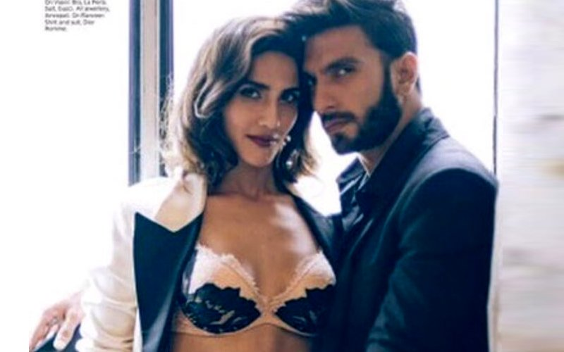 You Wouldn't Be Able To Take Your Eyes Off These Steamy Pictures Of Ranveer Singh and Vaani Kapoor