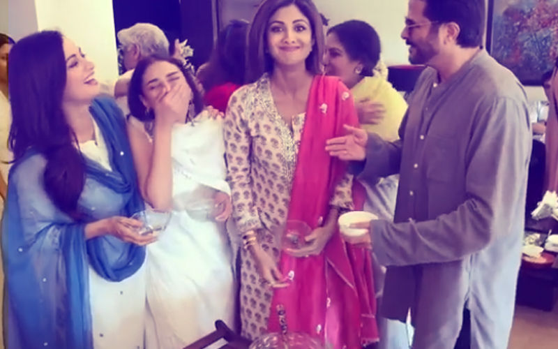 Watch: Anil Kapoor 'Gatecrashes' Shilpa Shetty's Eid Binge. Hilarious!