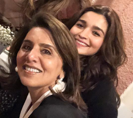 Alia Bhatt And Neetu Kapoor