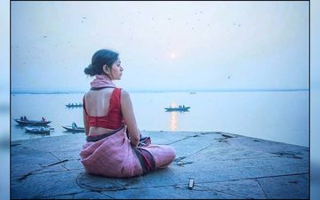 Ritabhari Chakraborty Shares A Beautiful Picture From Her Varanasi Vacation
