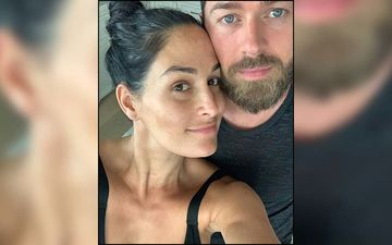 It's A Boy For WWE Star Nikki Bella And Fiancé Artem Chigvintsev; Pictures From Their Baby Gender Reveal Party Are LIT