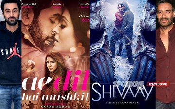 Ae Dil Hai Mushkil Has Taken A Big Lead Over Shivaay At The Ticket Windows