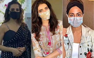 Anita Hassanandani, Hina Khan, Karishma Tanna And Other TV Hotties Who Rocked The Mask Look With Sheer Grace