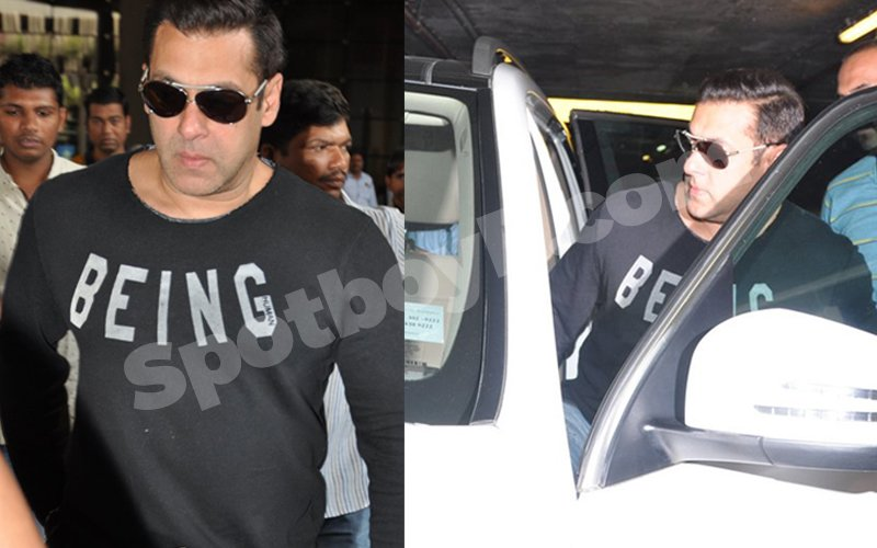 All His Bags Are Packed Salman Khan Returns To Mumbai