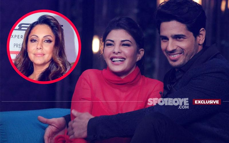 Gauri Khan To Design Sidharth Malhotra's New Bachelor Pad