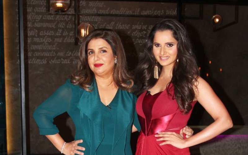 farah khan and sania mirza