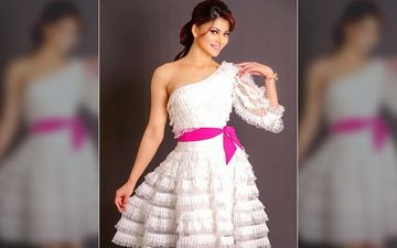 Urvashi Tells How Not To Do Ruffles In White One-Shoulder Dress