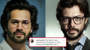 Varun Dhawan's New Pic Reminds Fans Of The Professor From Money Heist; Actor's Comments Section Resonates 'Bella Ciao, Bella Ciao'