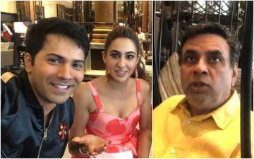 Coolie No 1: Varun Dhawan, Paresh Rawal, Shikha Talsania MOCK Sara Ali Khan For Waking Up At 4 AM To Workout - Watch HILARIOUS VIDEO