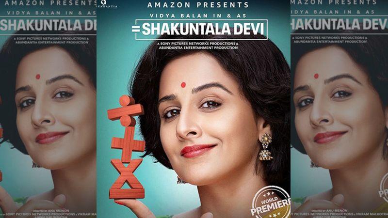 After Gulabo Sitabo, Vidya Balan's Shakuntala Devi Biopic Takes The OTT Route; Actress Announces Amazon Prime Release
