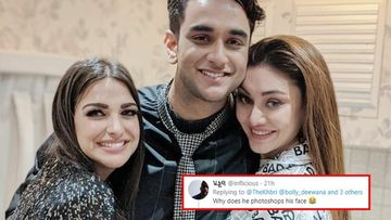 Bigg Boss 13: Vikas Gupta Poses With Himanshi Khurana-Shefali Jariwala But Fans Notice His 'Photoshopped Face' Instead
